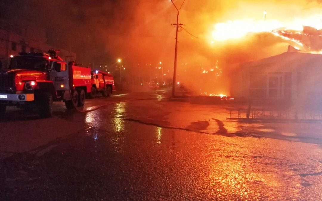 Анализ оперативной обстановки по пожарам на территории АГО