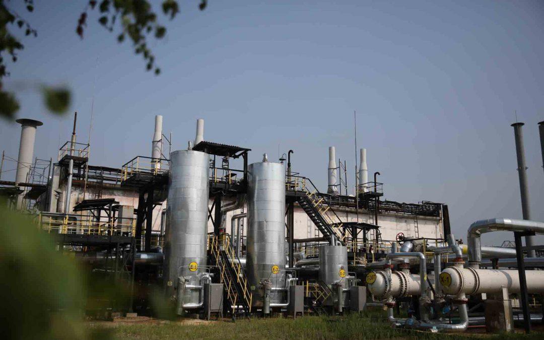 АНХК модернизировала установку газофакельного хозяйства