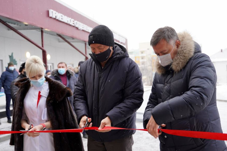 Медцентр для лечения внебольничных пневмоний открыли в Шелехове