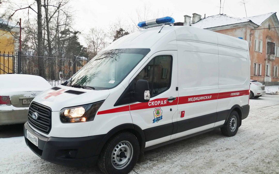На станцию скорой помощи поступили два новых автомобиля