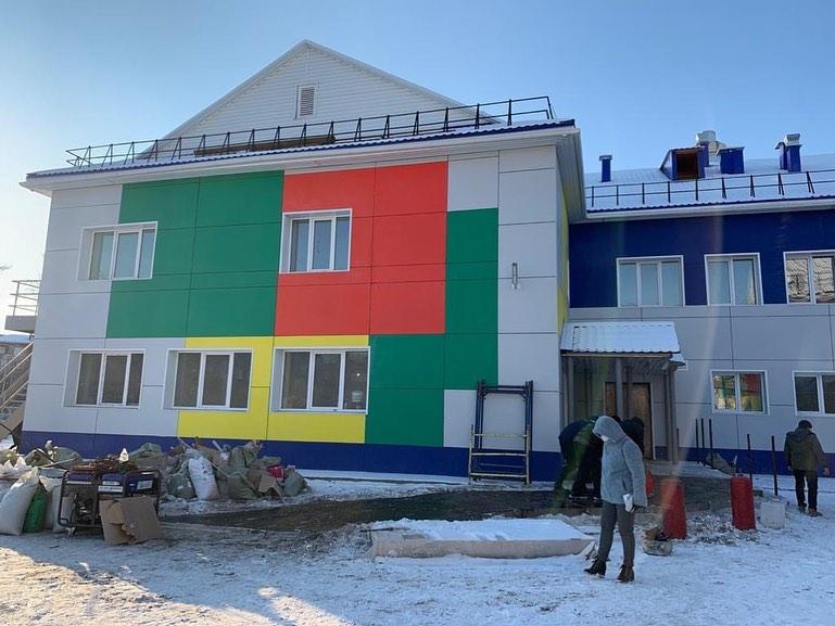 Новый детский сад в 17 микрорайоне сдадут до конца года