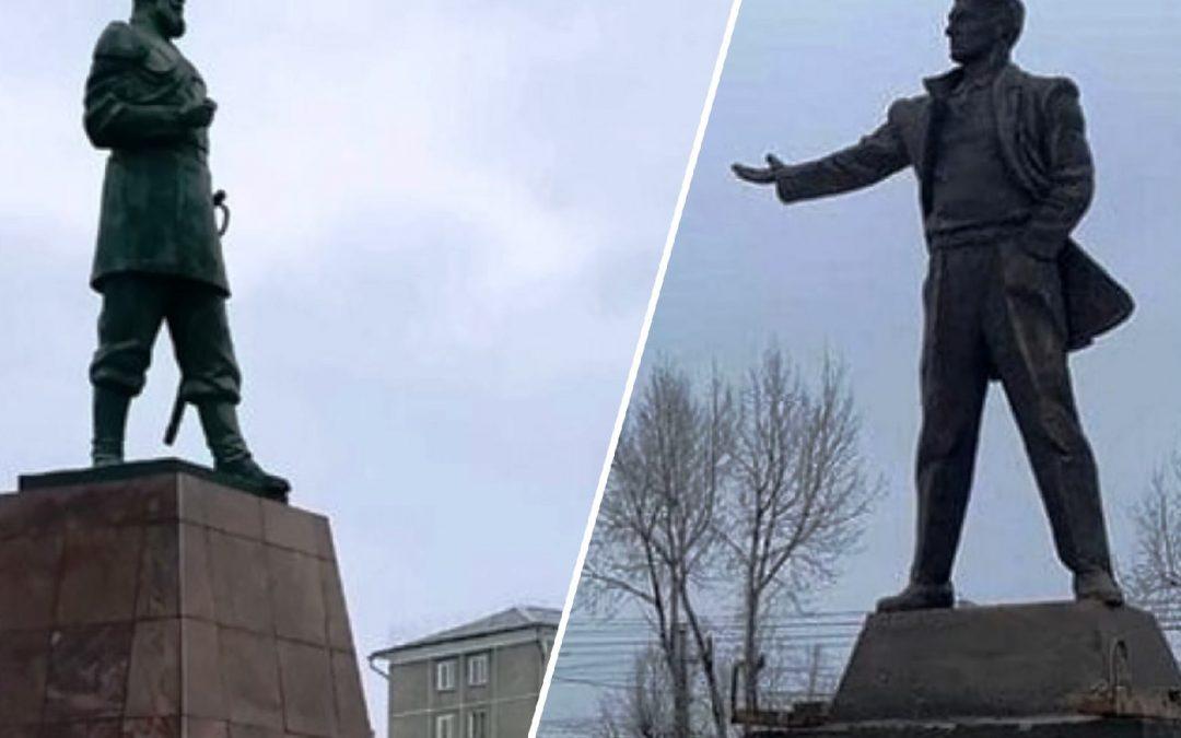 Маяковский и царь. Черемхово обрастает памятниками