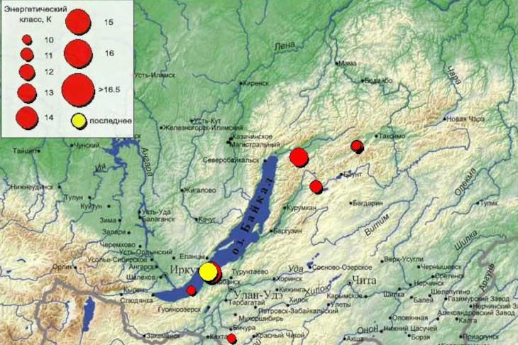 За одни сутки два землетрясения сотрясли Прибайкалье