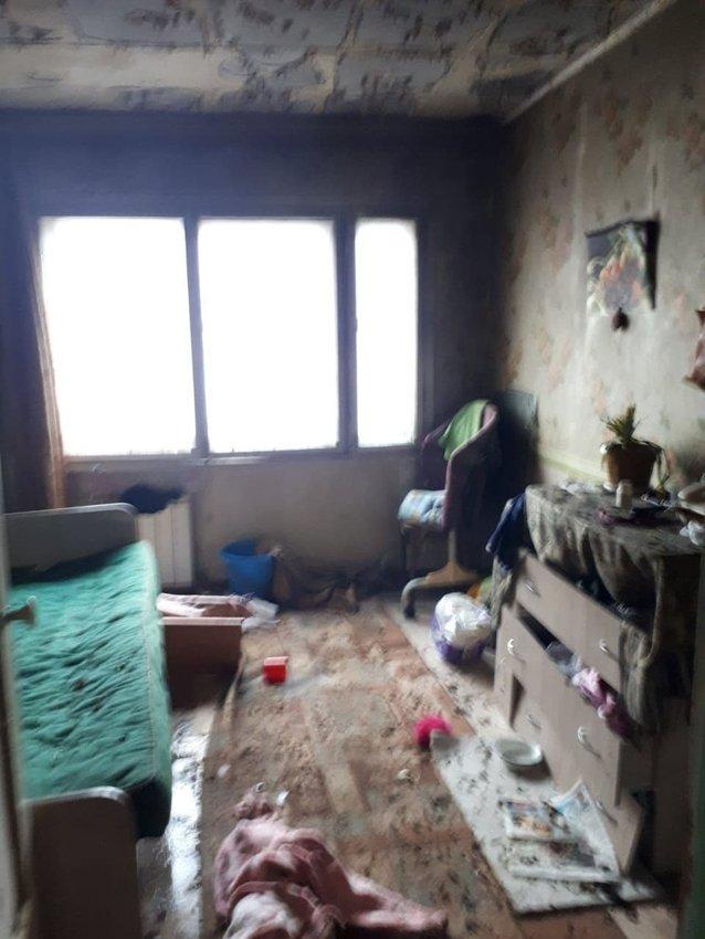 Пожар в Ангарске сегодня