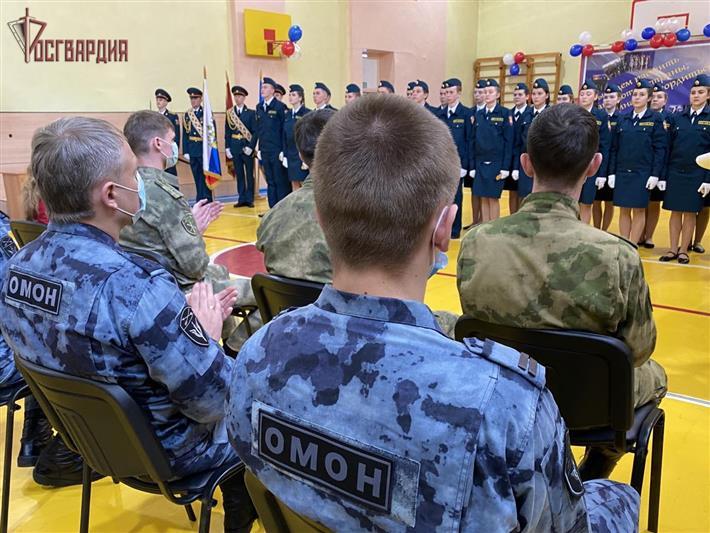 Юные росгвардейцы Ангарска дали торжественную клятву