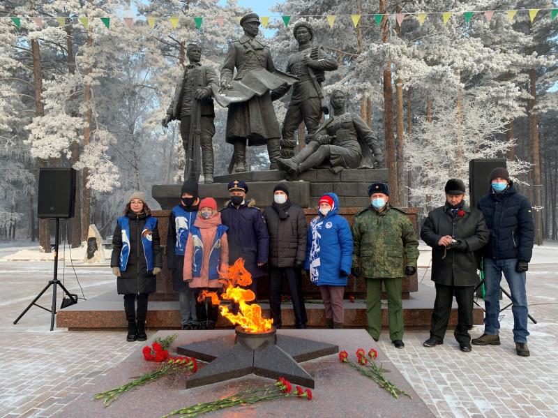 В Ангарске почтили погибших солдат, оставшихся неизвестными