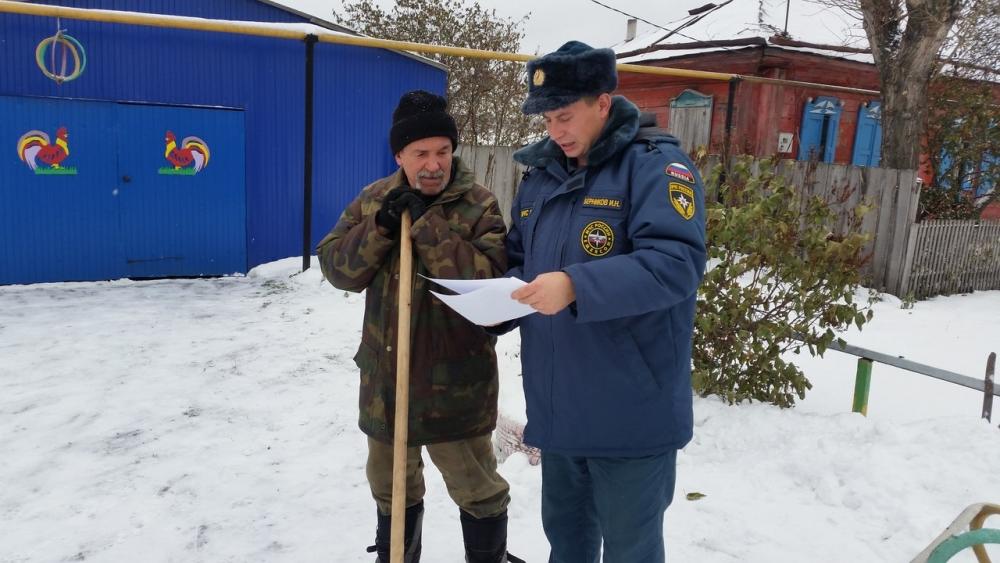 По садоводствам АГО с 1 по 14 декабря пройдут пожарные