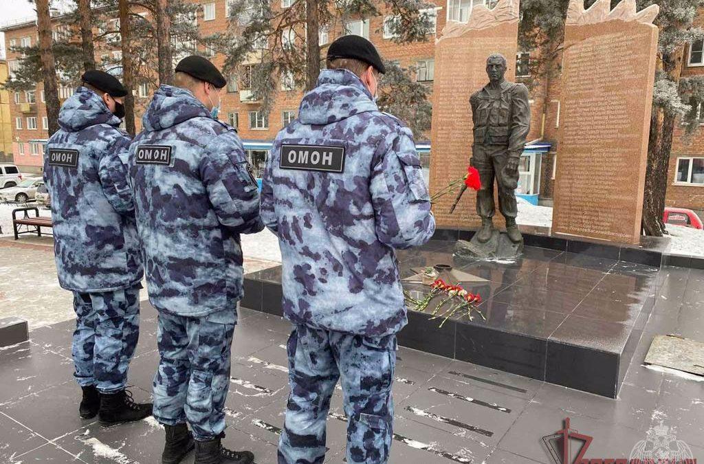 В Ангарске почтили память погибших воинов (видео)