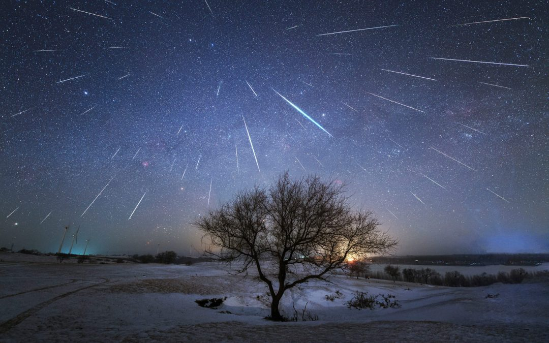 Жители Иркутской области смогут наблюдать метеорный дождь