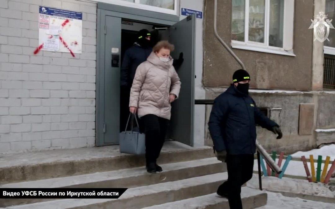 Обнародованы кадры задержания Н. Ледяевой (видео)