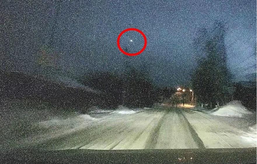 Метеор пролетел над Иркутской областью 15 января