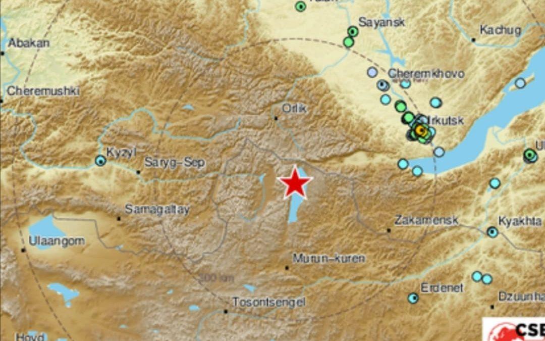 Землетрясение в Иркутской области 12 января 2021
