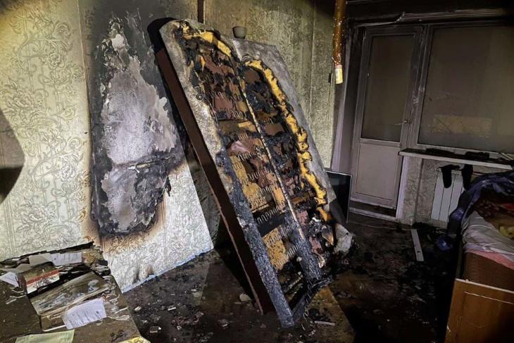 Ангарчанин погиб при пожаре