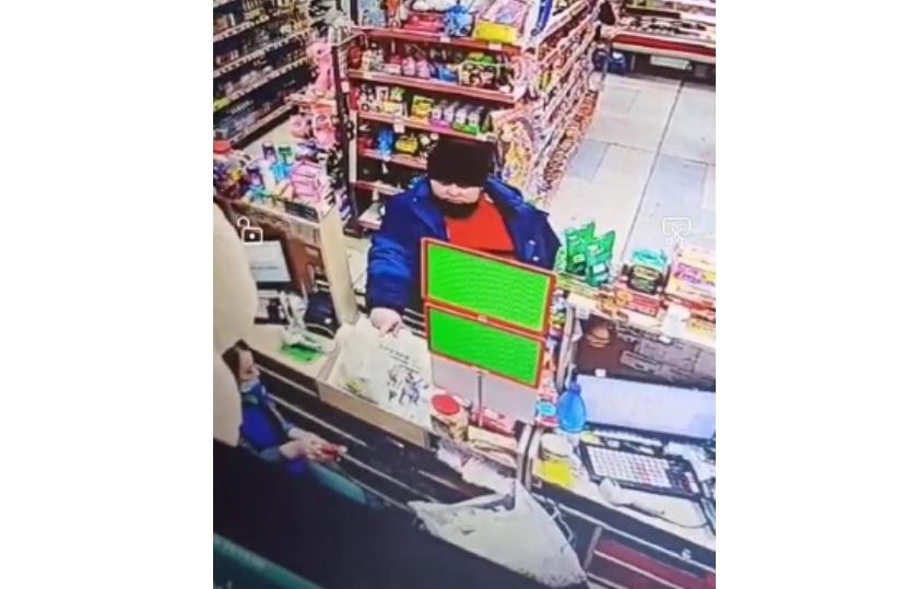 Разыскивается мужчина, расплатившийся чужой банковской картой