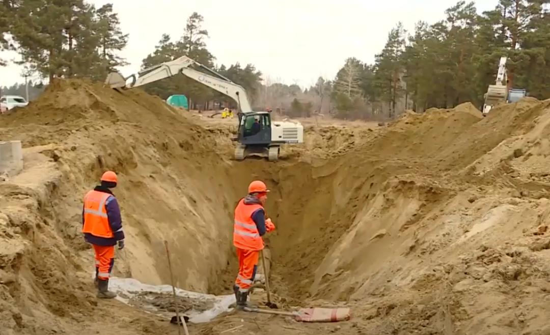 Крупная коммунальная авария произошла в Ангарске. Видео.
