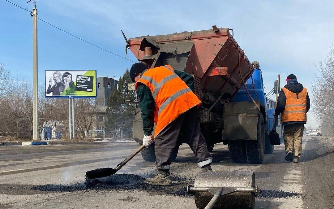 В Ангарском округе стартовал ямочный ремонт дорог