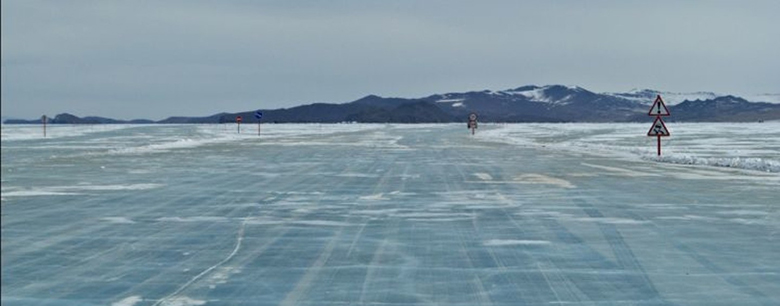 Ледовую переправу на остров Ольхон закрыли.