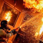 2 пенсионера погибли при пожаре в Ангарске