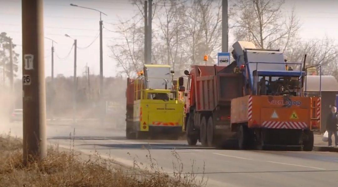 К уборке дорог приступили в Ангарске