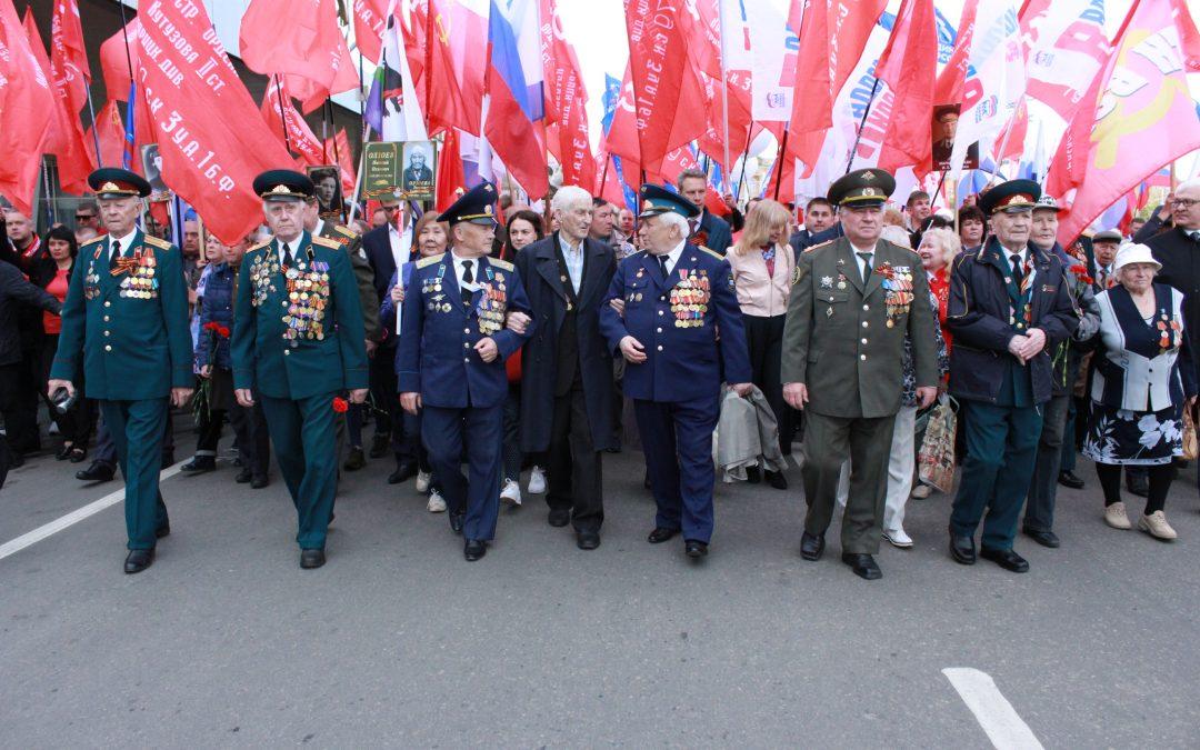 Традиционного шествия в День Победы в Иркутске не будет.