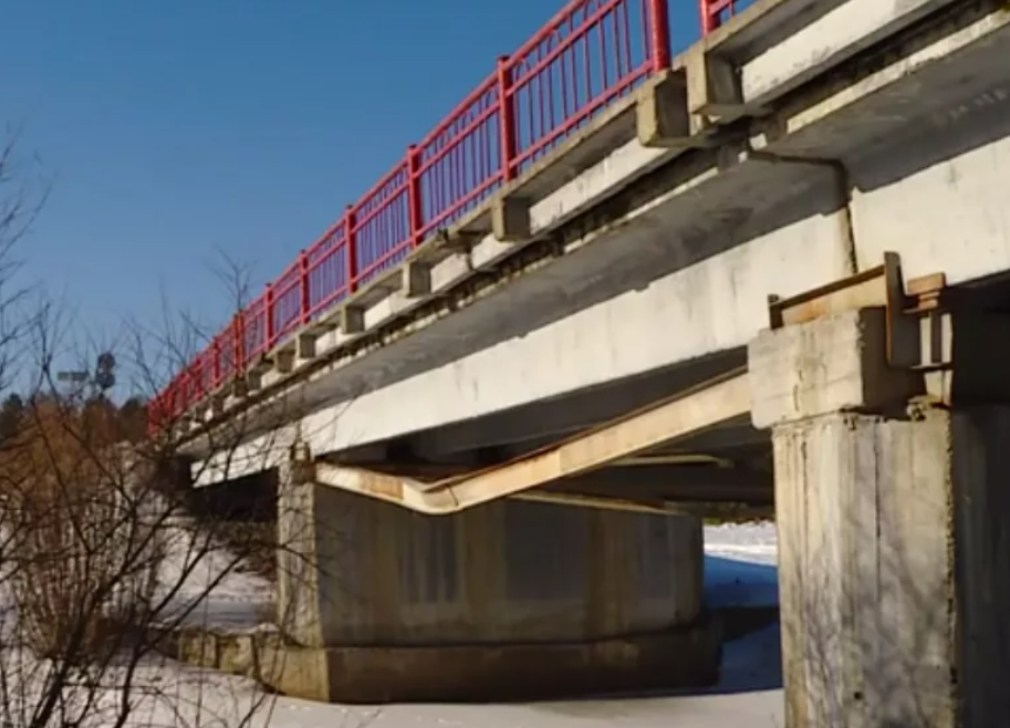 мост через Оду Ангарск - Тальяны