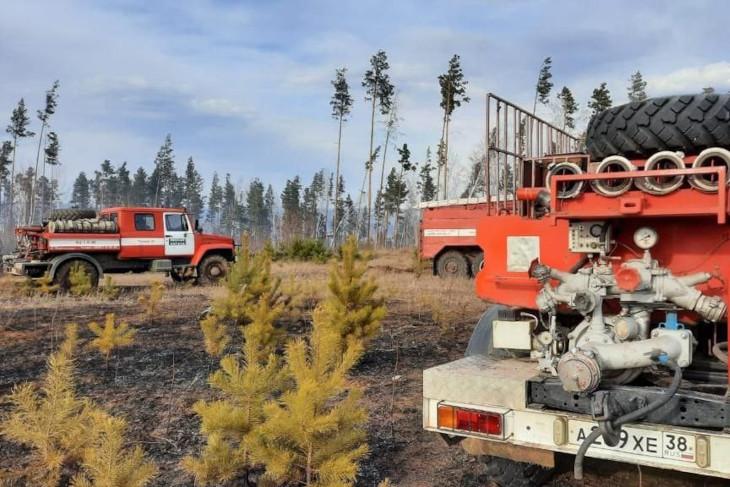 Сразу 3 пожара произошло в минувшие выходные в Иркутской области