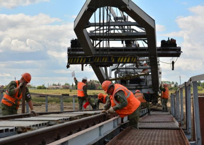 Военные железнодорожники начали строить вторую ветку БАМа.