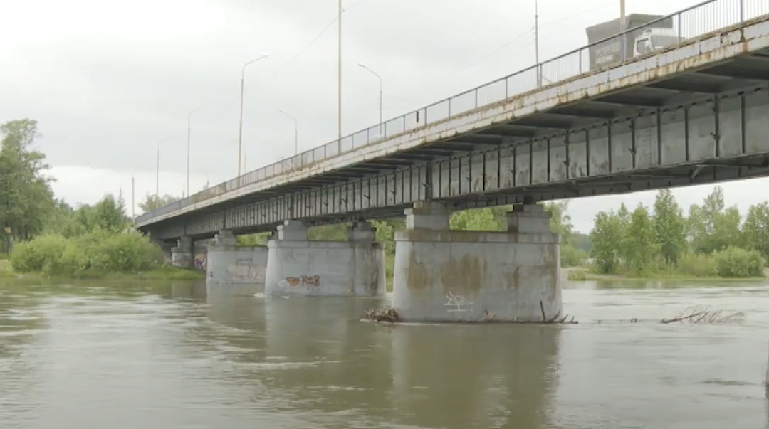 Дачники не пострадали от повышения реки Китой.