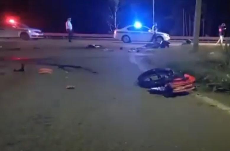 Двое мотоциклистов погибли на трассе Иркутск – Листвянка