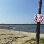 Еловский пруд обмелел из-за попадания в шлюзы постороннего предмета