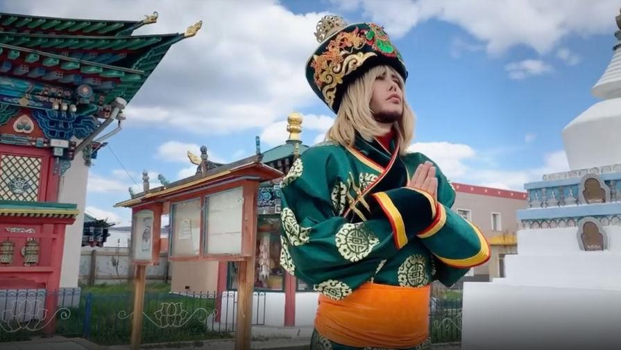 Сергей Зверев снял клип на гимн Бурятии. Видео.