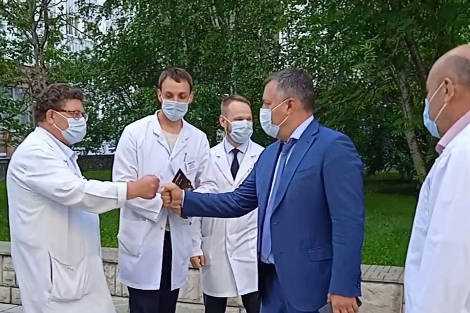 Ковидный госпиталь на 800 коек скоро откроют в Иркутской областной клинической больнице.