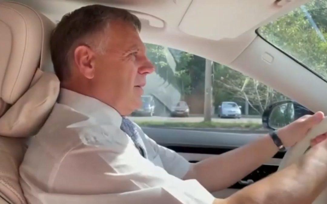 Мэр Ангарска об открытии новой дороги