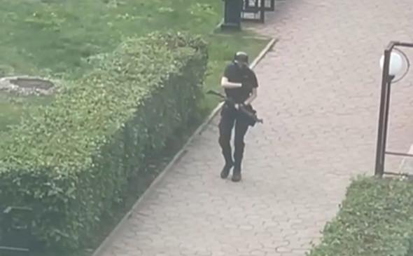 В университете в Перми открыли стрельбу