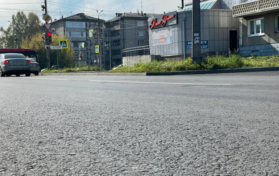 В Ангарском округе успешно завершается сезон дорожных работ.
