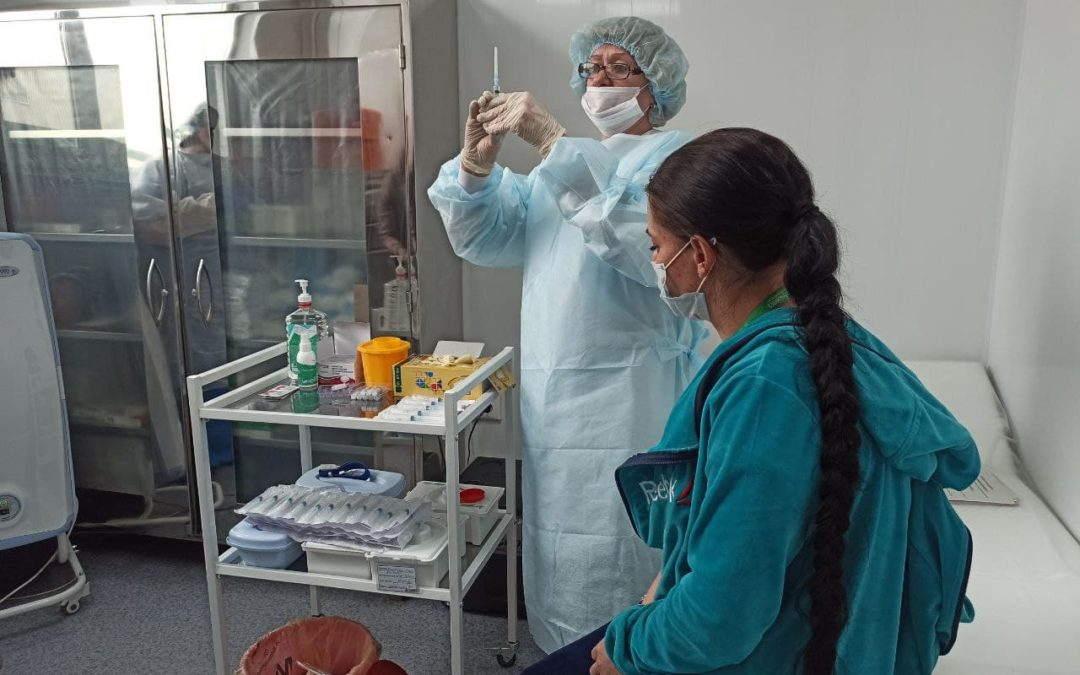 В Иркутскую область поступило 40 тысяч доз вакцины от COVID-19.