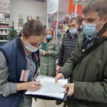 В Ангарске продолжаются рейды по контролю соблюдения масочного режима